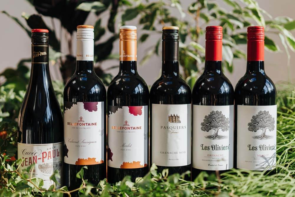 Mixed French Red Wines x 6   Grape Escapes