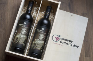 Personalised 19 Crimes Luxury Red Wine Gift Set