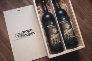 Personalised 19 Crimes Wine Gift